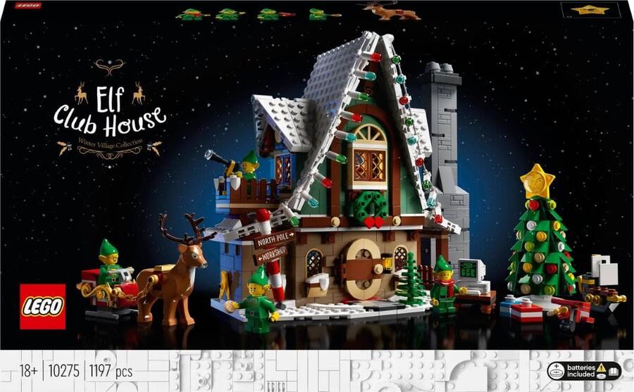 10275 LEGO Creator Expert Elf Kulüp Evi