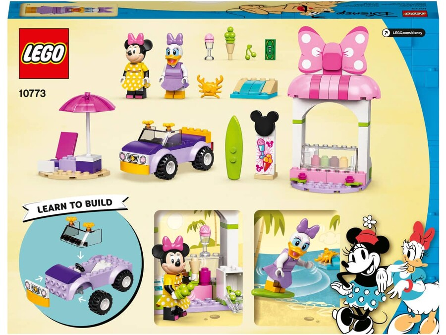 10773 LEGO Mickey & Friends Minnie Fare'nin Dondurma Dükkanı