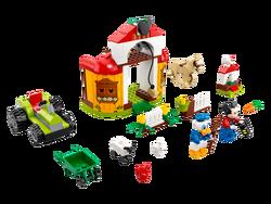 LEGO - 10775 LEGO Mickey & Friends Mickey Fare ve Donald Duck'ın Çiftliği