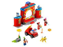 LEGO - 10776 LEGO | Disney Mickey and Friends Mickey ve Arkadaşlarının İtfaiye Merkezi ve Kamyonu