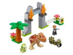 LEGO - 10939 LEGO DUPLO Jurassic World™ T. rex ve Triceratops Dinozor Kaçışı