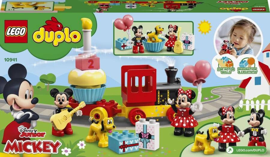10941 LEGO DUPLO Disney Mickey ve Minnie Doğum Günü Treni