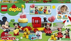 10941 LEGO DUPLO Disney Mickey ve Minnie Doğum Günü Treni - Thumbnail