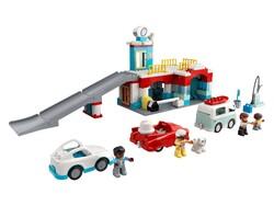 LEGO - 10948 LEGO DUPLO Town Otopark ve Oto Yıkama
