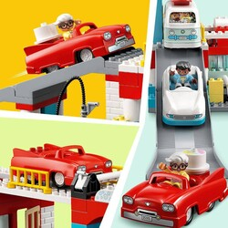 10948 LEGO DUPLO Town Otopark ve Oto Yıkama - Thumbnail