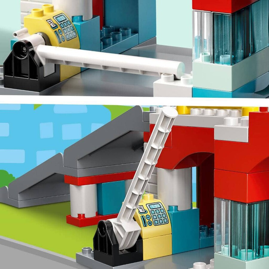 10948 LEGO DUPLO Town Otopark ve Oto Yıkama