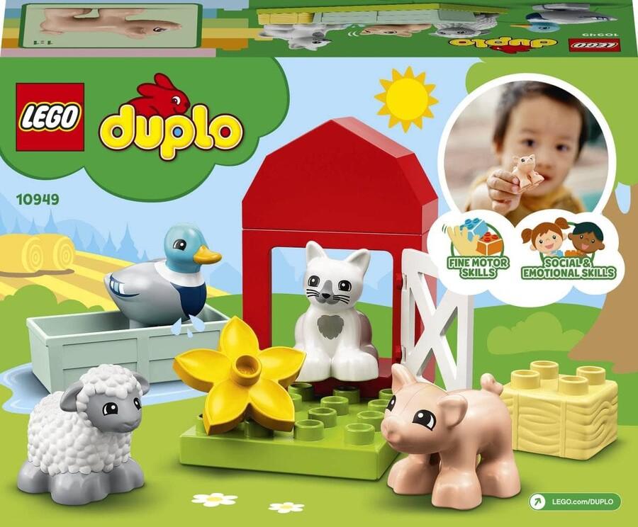 10949 LEGO DUPLO Town Çiftlik Hayvanı Bakımı