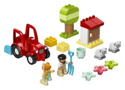 LEGO - 10950 LEGO DUPLO Town Çiftlik Traktörü ve Hayvan Bakımı