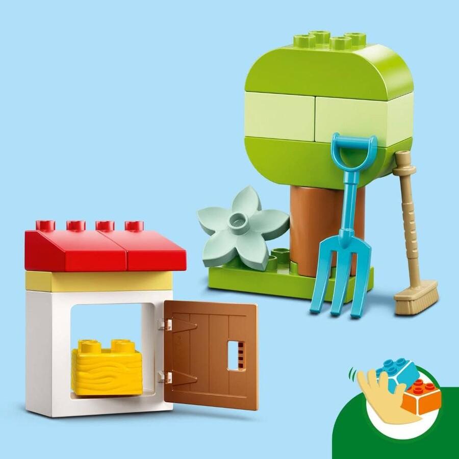 10950 LEGO DUPLO Town Çiftlik Traktörü ve Hayvan Bakımı
