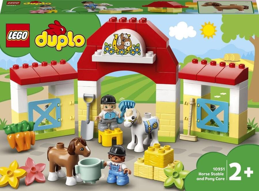 10951 LEGO DUPLO Town At Ahırı ve Midilli Bakımı