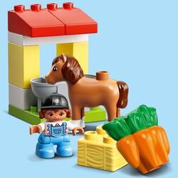 10951 LEGO DUPLO Town At Ahırı ve Midilli Bakımı - Thumbnail