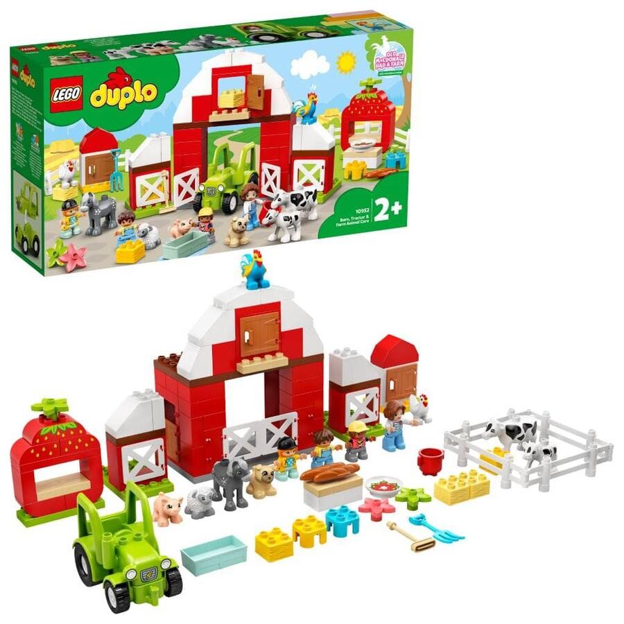 10952 LEGO DUPLO Town Çiftlik, Traktör ve Çiftlik Hayvanı Bakımı