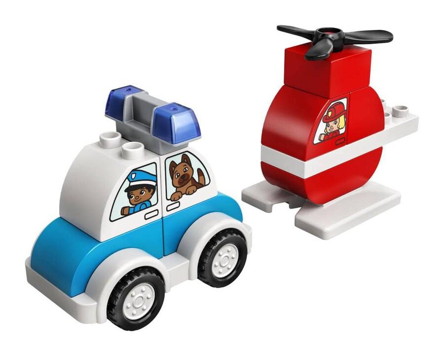 10957 LEGO DUPLO My First İtfaiye Helikopteri ve Polis Arabası