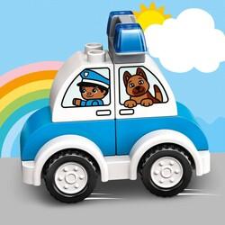10957 LEGO DUPLO My First İtfaiye Helikopteri ve Polis Arabası - Thumbnail