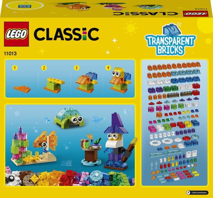 11013 LEGO Classic Yaratıcı Şeffaf Yapım Parçaları