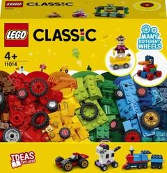 11014 LEGO Classic Yapım Parçaları ve Tekerlekler - Thumbnail