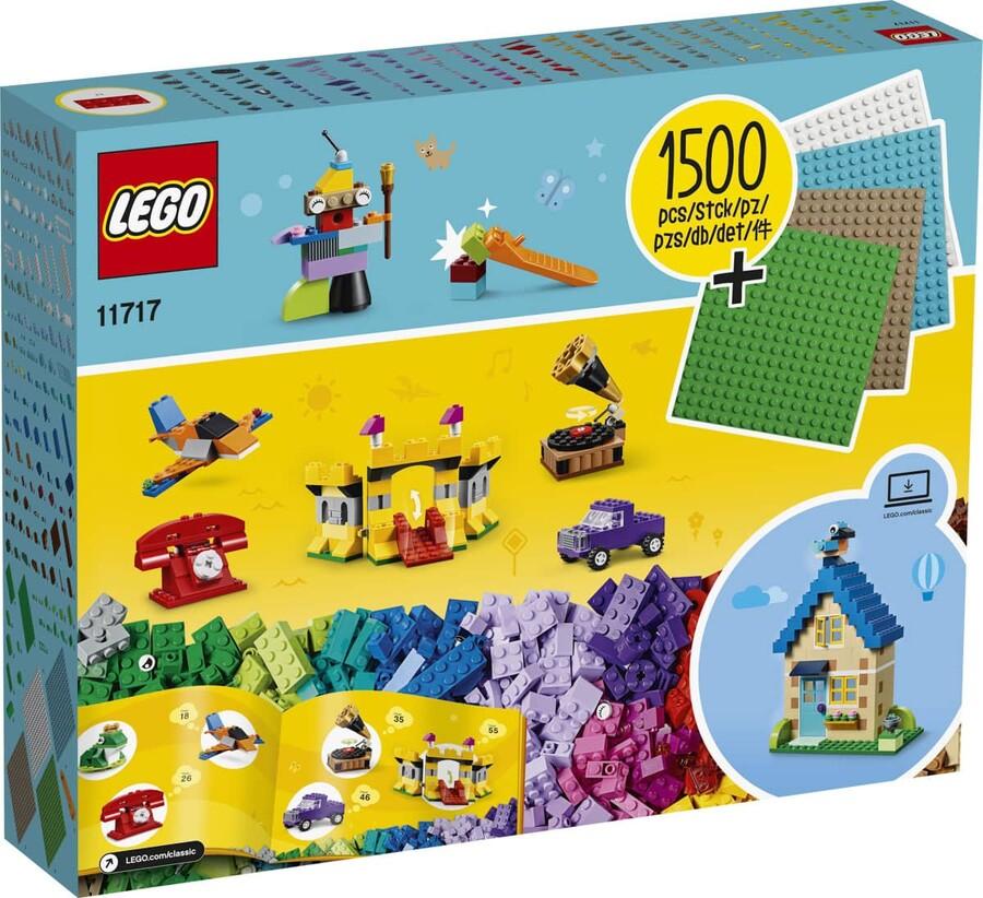 11717 LEGO Classic Yapım Parçaları ve Zeminler