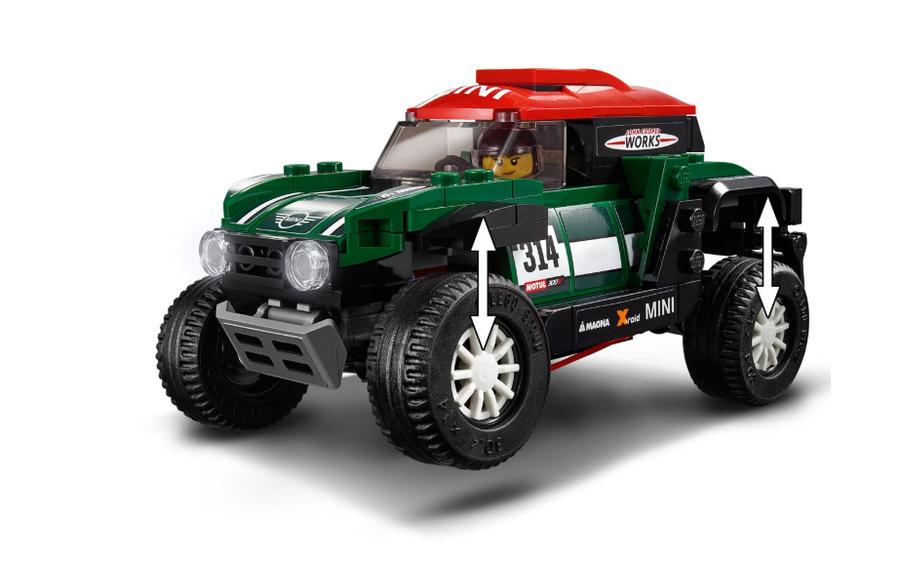 75894 1967 Mini Cooper S Rally and 2018 MINI John Cooper Works Buggy