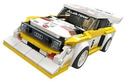 LEGO - 76897 LEGO Speed Champions 1985 Audi Sport quattro S1