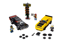 LEGO - 75893 2018 Dodge Challenger SRT Demon and 1970 Dodge Charger R/T