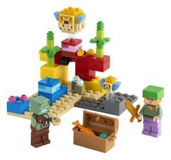 LEGO - 21164 LEGO Minecraft Mercan Kayalığı