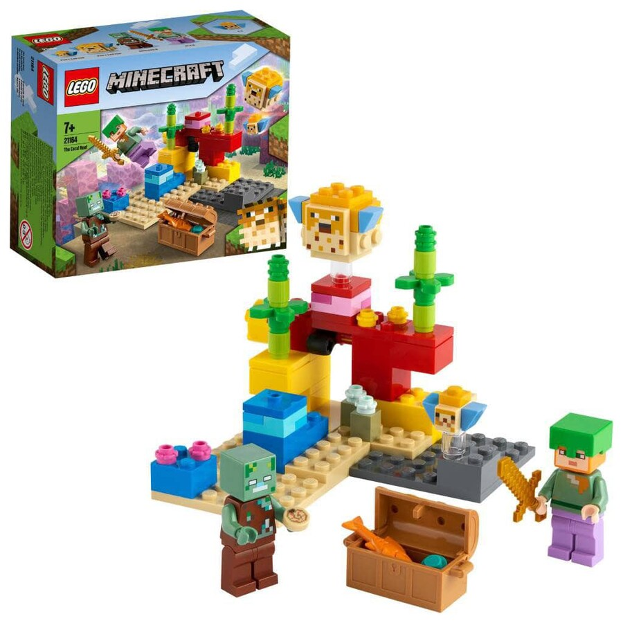 21164 LEGO Minecraft Mercan Kayalığı
