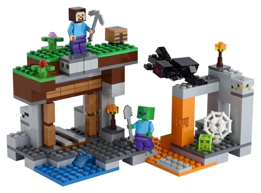 21166 LEGO Minecraft Terk Edilmiş Maden