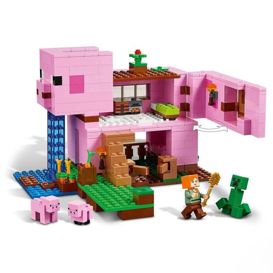 21170 LEGO Minecraft Domuz Evi