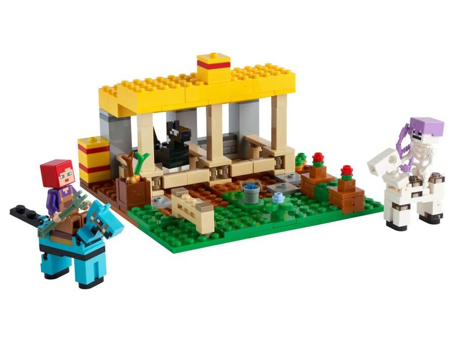 21171 LEGO Minecraft™ At Ahırı