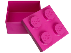 LEGO - 853239 2x2 Pembe Küçük Saklama Kutusu