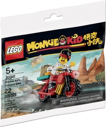 30341 Monkie Kid's Delivery Bike - Thumbnail