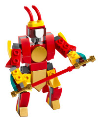 LEGO - 30344 LEGO Monkie Kid Mini Monkey King Savaşçı Robotu