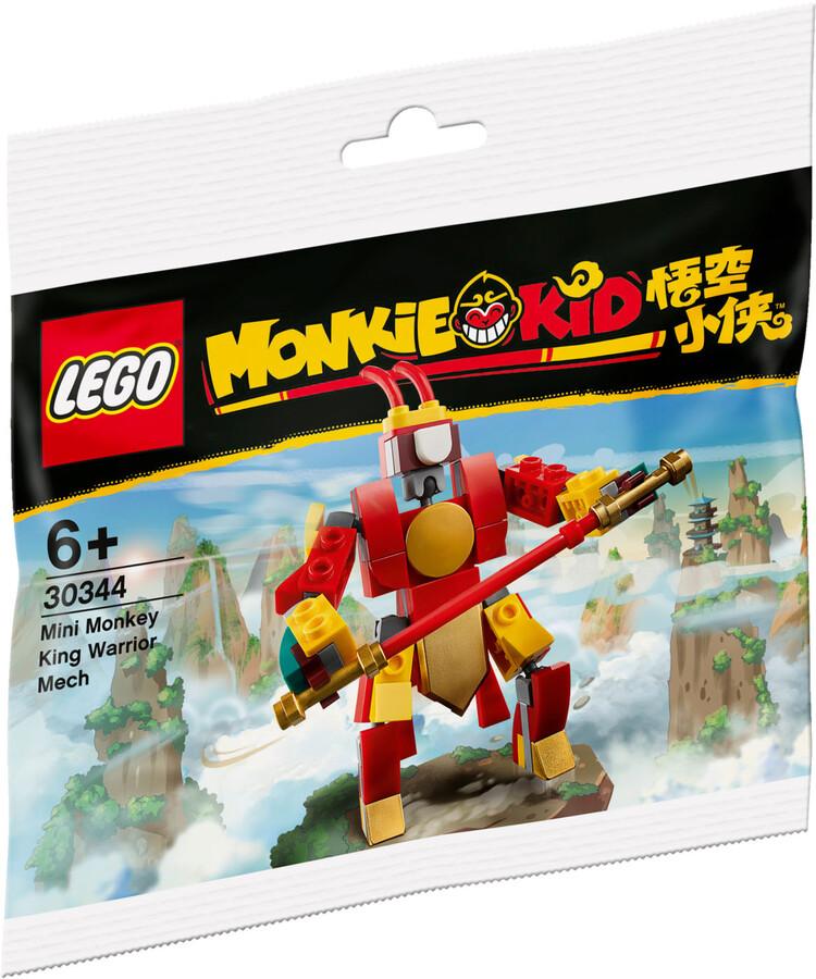 30344 LEGO Monkie Kid Mini Monkey King Savaşçı Robotu