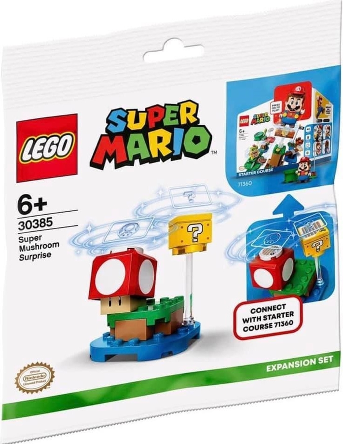 30385 LEGO Super Mario Super Mushroom Sürprizi Ek Macera Seti