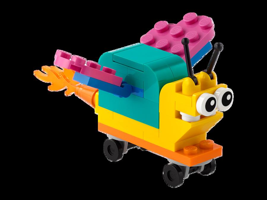 30563 LEGO Classic Kendi Süper Güçlü Salyangozunu Yap