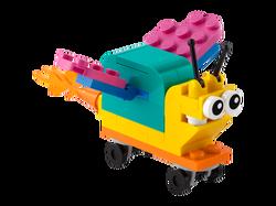 LEGO - 30563 LEGO Classic Kendi Süper Güçlü Salyangozunu Yap