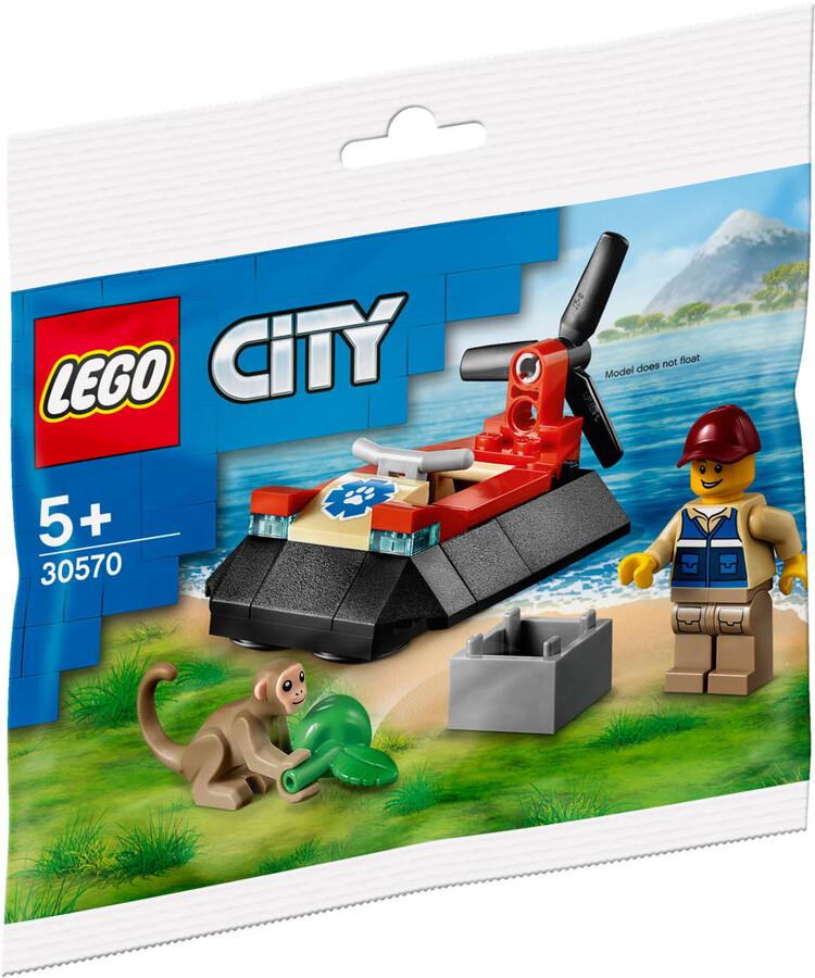 30570 LEGO City Vahşi Hayvan Kurtarma Hoverkraftı
