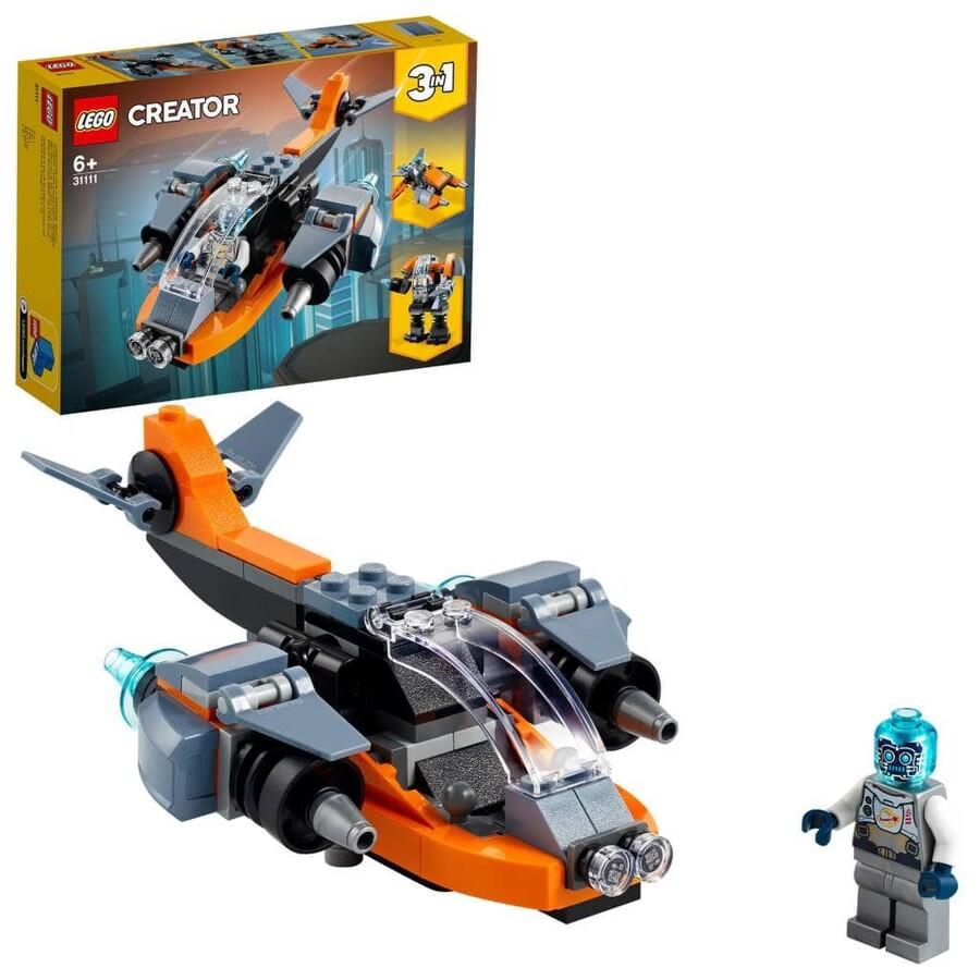 31111 LEGO Creator Siber İnsansız Hava Aracı