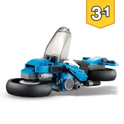 31114 LEGO Creator Süper Motosiklet - Thumbnail