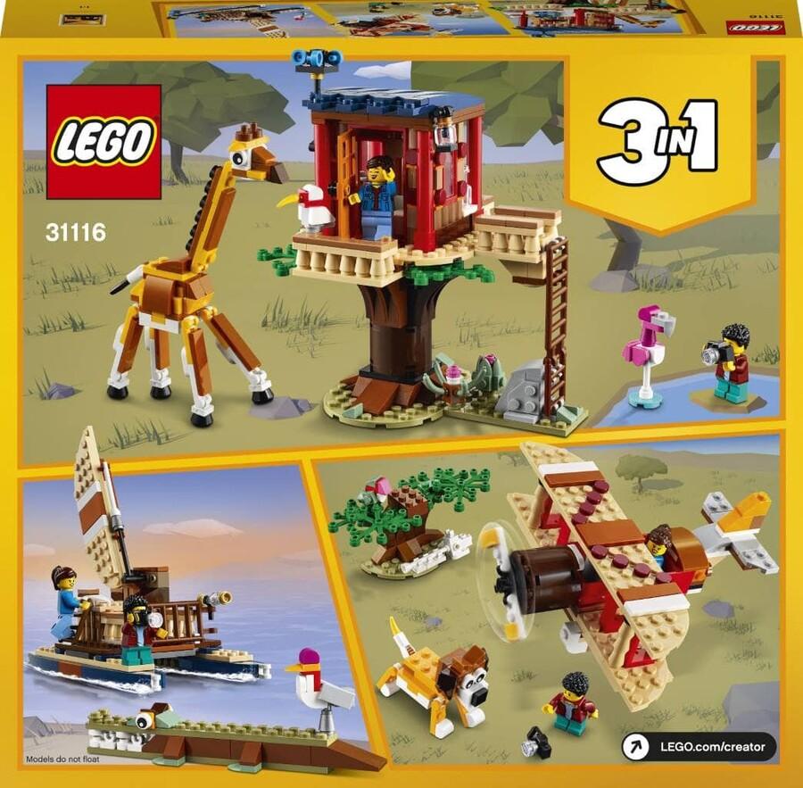 31116 LEGO Creator Safari Ağaç Evi