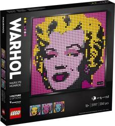 31197 LEGO ART Andy Warhol'un Marilyn Monroe Tablosu - Thumbnail
