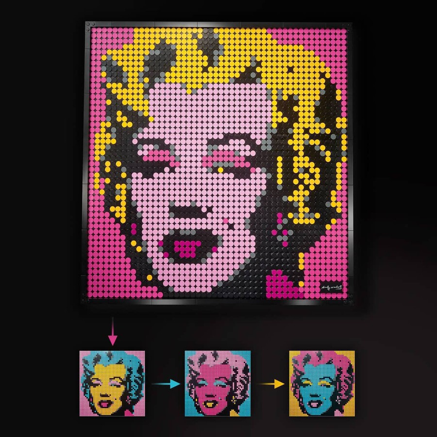 31197 LEGO ART Andy Warhol'un Marilyn Monroe Tablosu