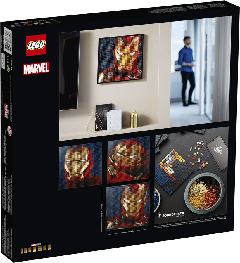 31199 LEGO ART Marvel Stüdyoları Iron Man
