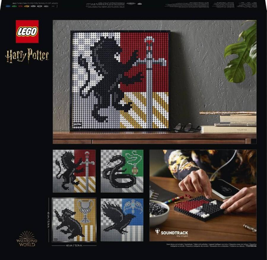 31201 LEGO ART Harry Potter™ Hogwarts™ Crests