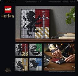 31201 LEGO ART Harry Potter™ Hogwarts™ Crests - Thumbnail