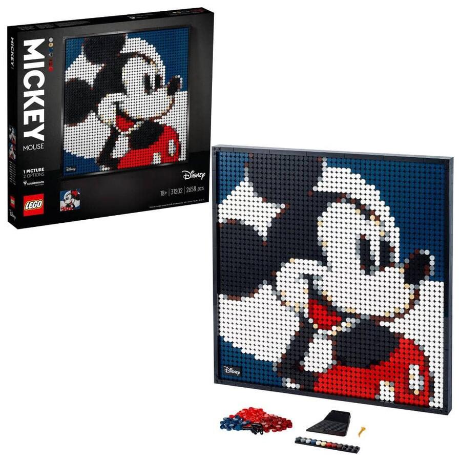31202 LEGO ART Disney's Mickey Mouse