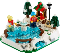 LEGO - 40416 Ice Skating Rink