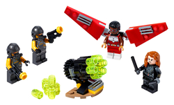 LEGO - 40418 Falcon & Black Widow team up