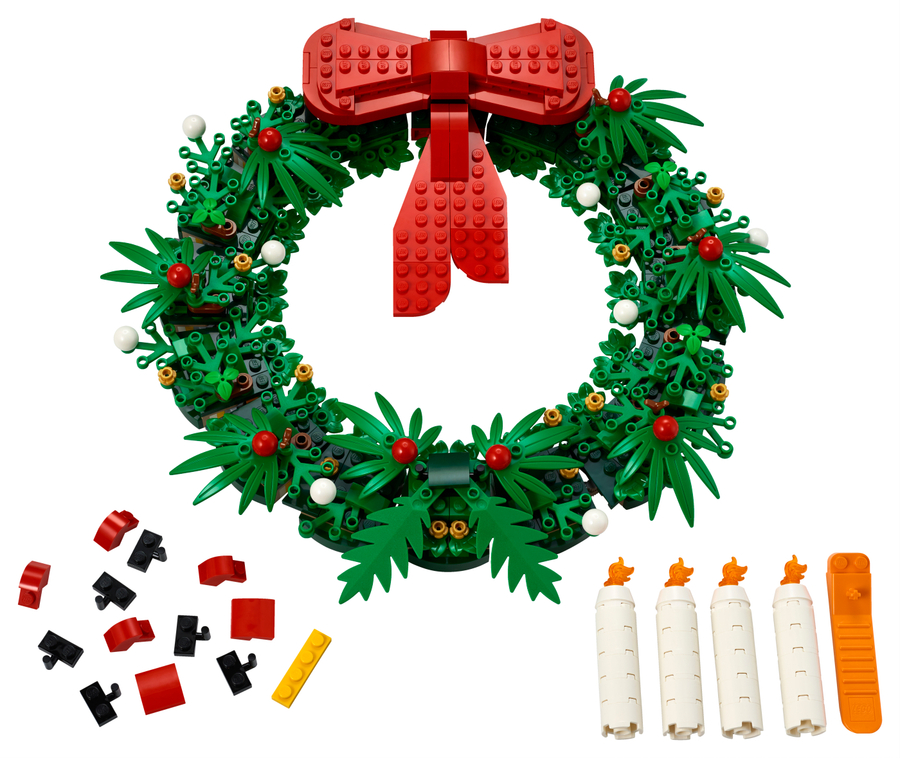 40426 LEGO Iconic 2'si 1 Arada Yılbaşı Çelengi