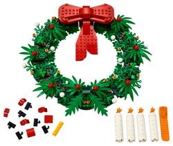 LEGO - 40426 LEGO Iconic 2'si 1 Arada Yılbaşı Çelengi